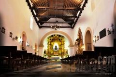 Interior nave central iglesia